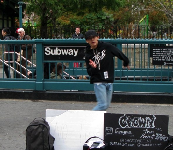Street Dancer, Union Square, New York City