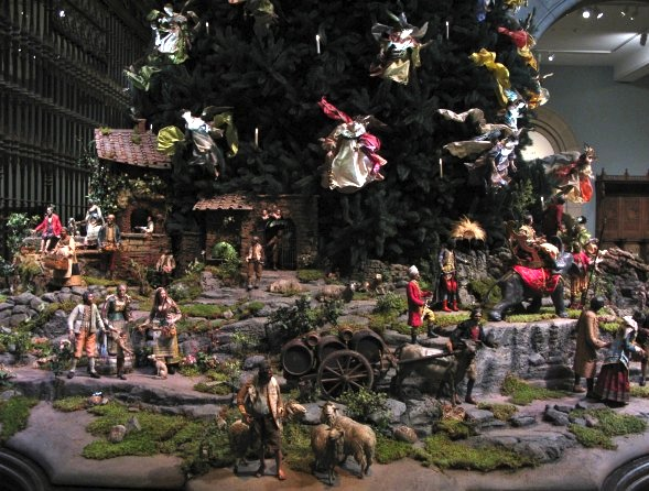 Christmas Tree, Metropolitan Museum, 2015