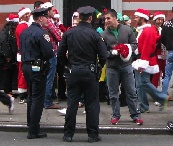 SantaCon, 2015, New York City