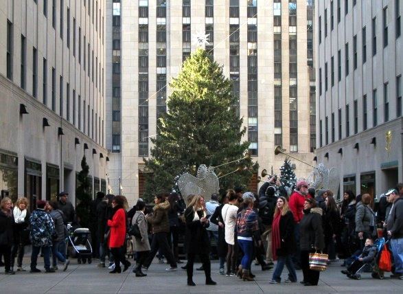 Rockefeller Center Christmas Tree, 2015