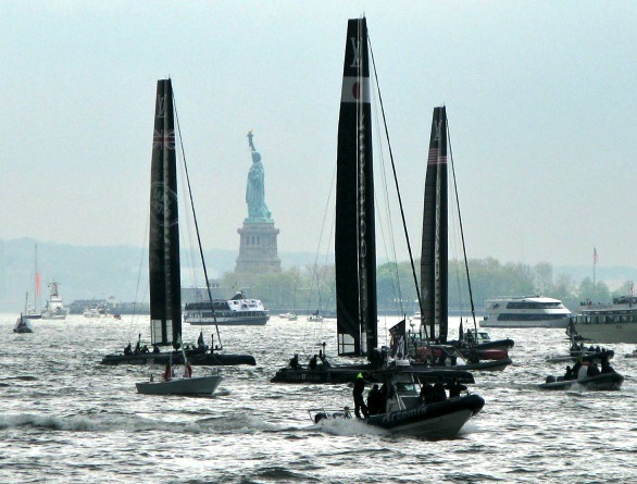 America's Cup 2016, New York City