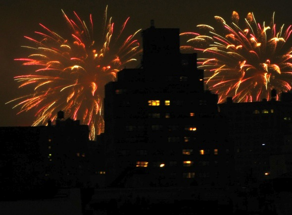 Fireworks, 2016, New York City