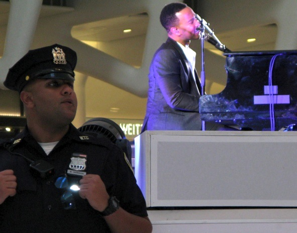 John Legend, Westfield World Trade Center