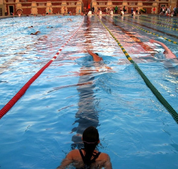 NYC Parks and Recreation Lap Swim Contest