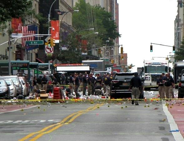 Chelsea Bomb Site, 2016