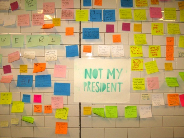 Post-Its, Union Square, New York City