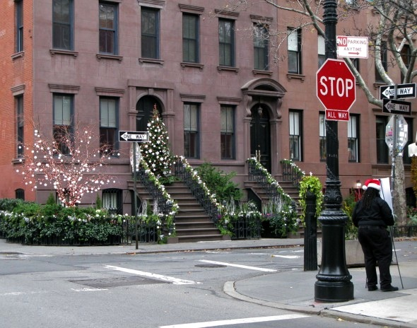 Christmas on Charles Street, New York City