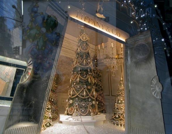 Tiffany's Holiday Windows, New York City, 2016