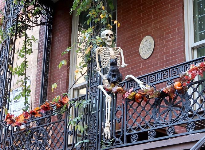 Halloween, Gramercy Park, New York City, 2017