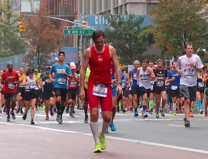 New York City Marathon, 2017