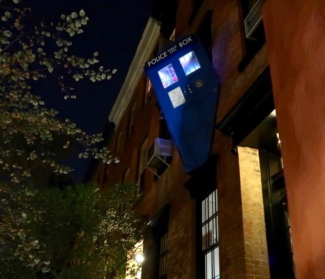 Tardis, Halloween, New York City, 2017