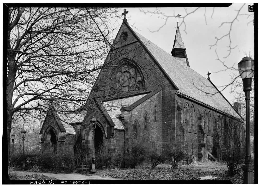 Chapel of the Good Shepherd, Roosevelt Island, 1970